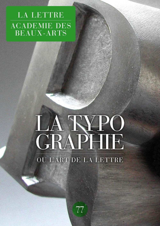 La Lettre — Académie des Beaux-Arts