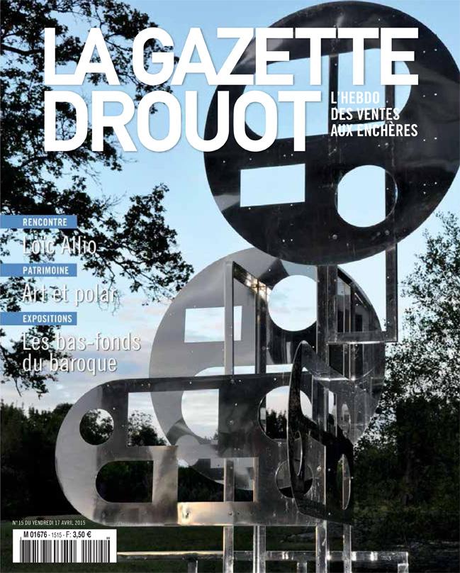 Gazette Drouot n°15  — 2015