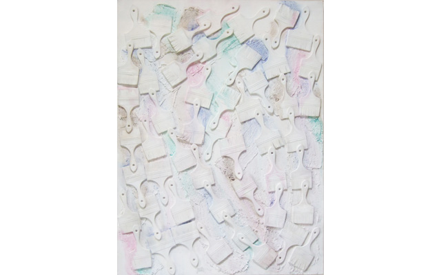 Untitled (accumulation pinceaux)