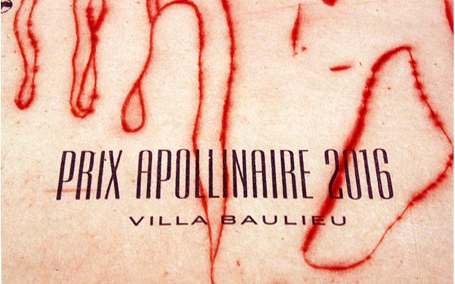 cuvée Apollinaire 2016: l'étiquette signée Françoise Pétrovitch
