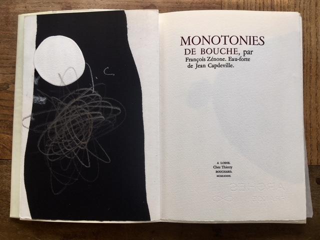 Monotonies de bouche